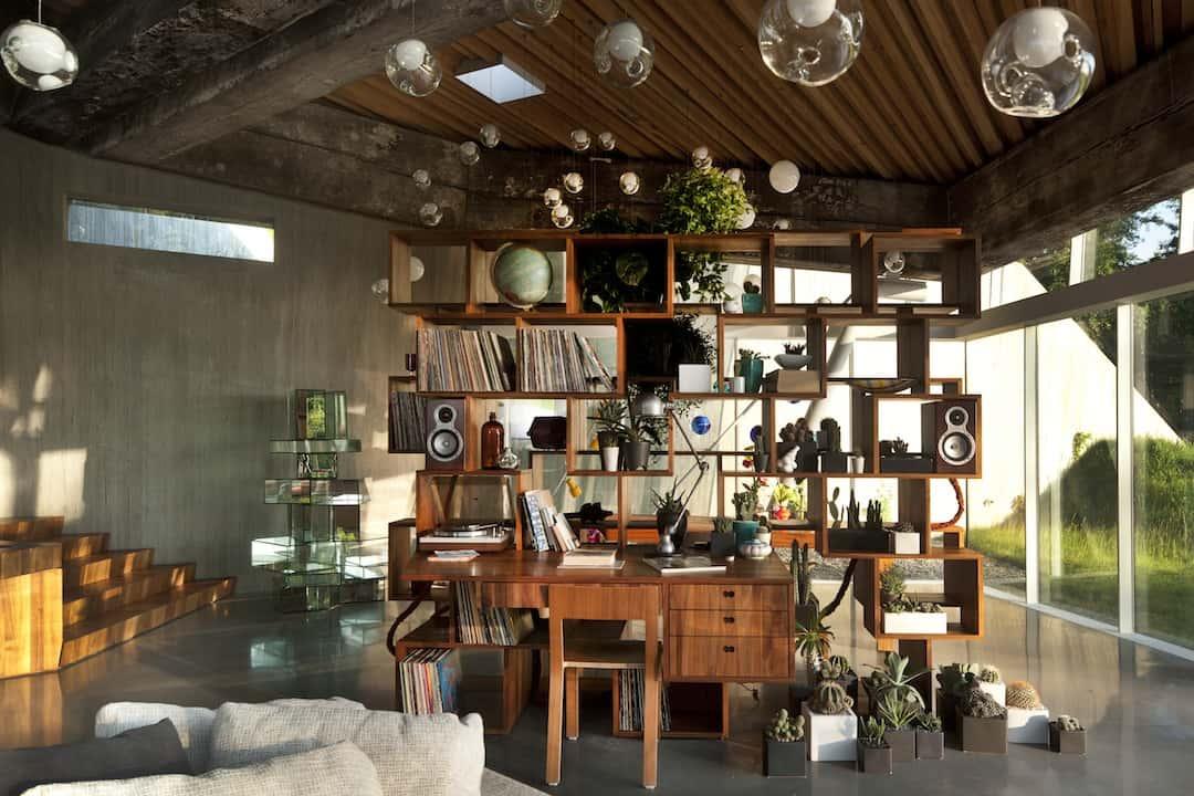 retro modern concept house 01