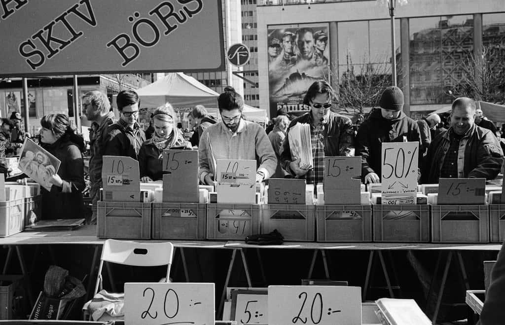 Flea Market Stockholm - photo by Tommy Feldt