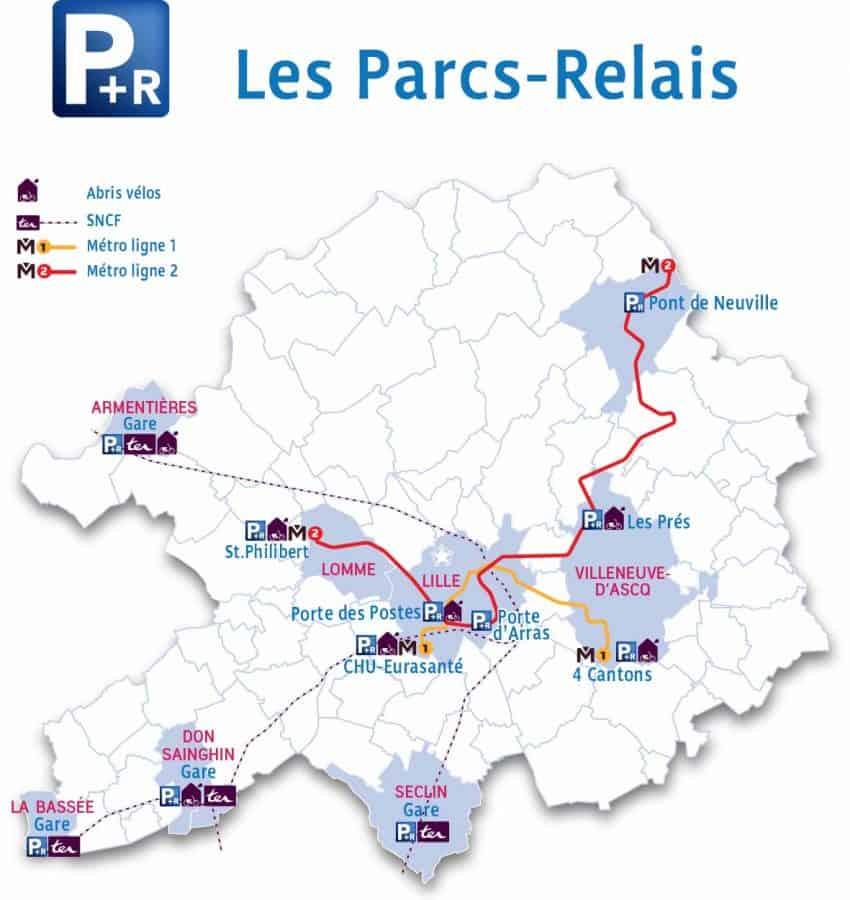 Park & Rider Braderie de Lille 2018