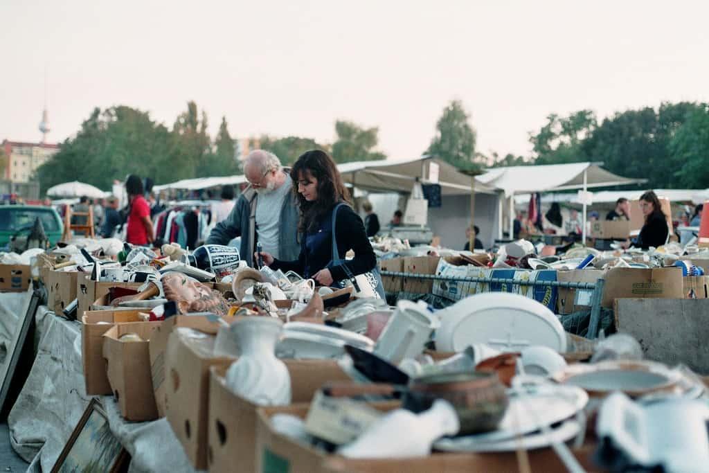 Mauerpark flohmarkt Victoria Calligo