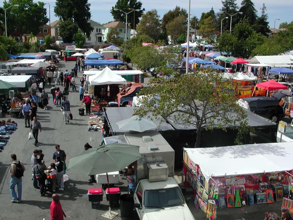 Berkeley flea market, San Francisco Bay Area / East Bay, California (CA)