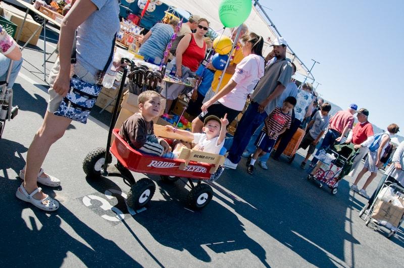 San Francisco De Anza flea market, Cupertino, California (CA)