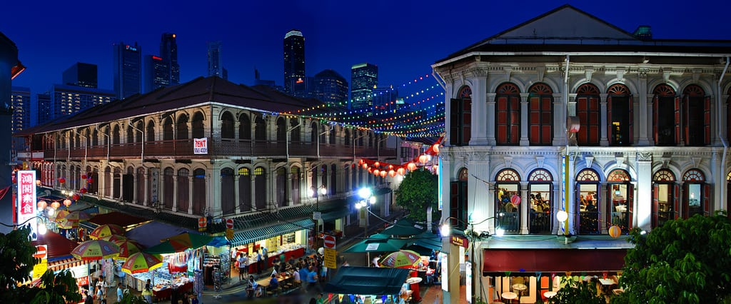 William Cho Chinatown Panorama