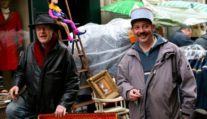 Nicolas Nova Flea market in France