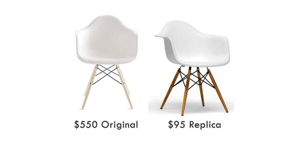 iconic design furniture vs fake 3