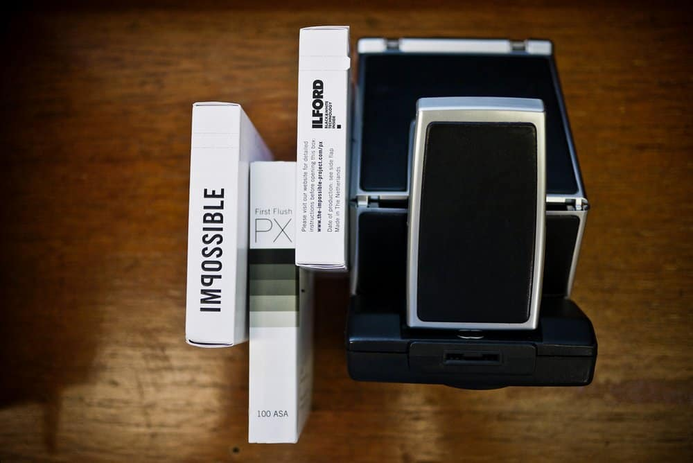 Polaroid Camera the IMPOSSIBLE PROJECT 001