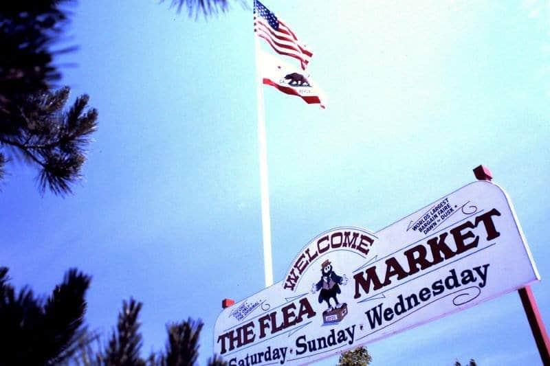 Axel Magard Welcome sign San Jose Flea Market 2