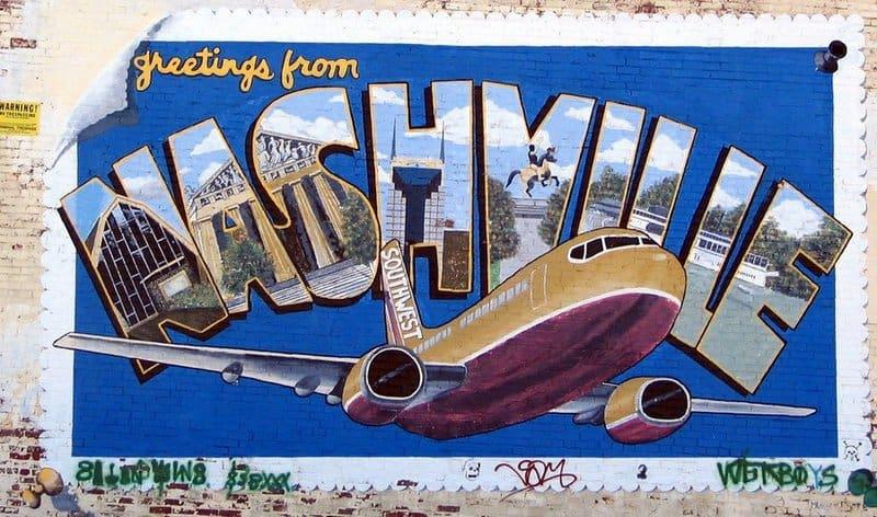 Brent Moore Nashville mural