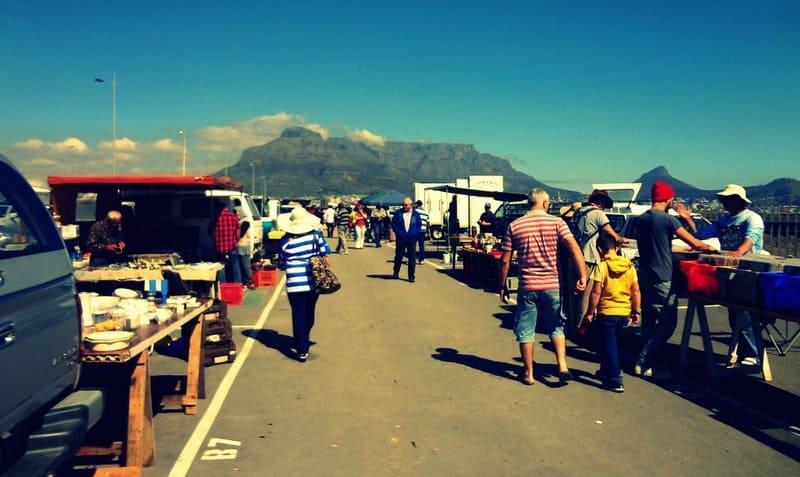 Milnerton Flea Market Cape Town South Africa