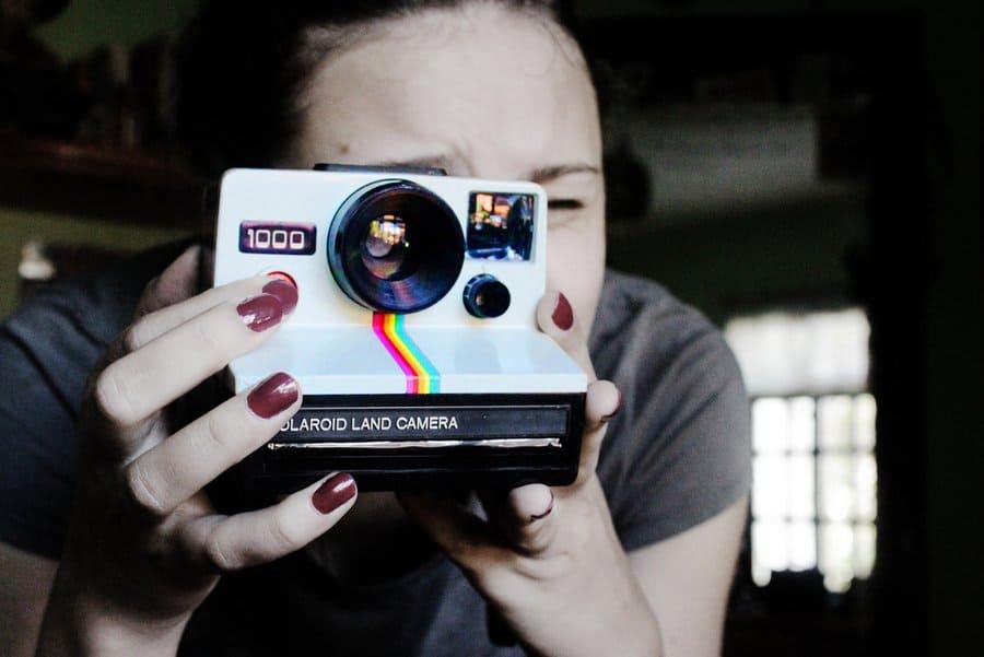 Carolina Alves © Polaroid 1000