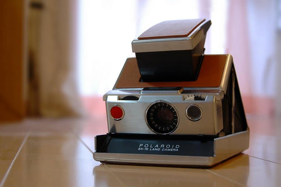 Polaroid SX-70 Land Camera © Fabian Reus