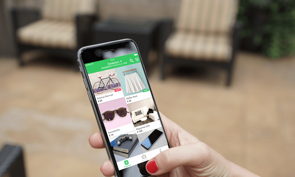 second hand furniture app