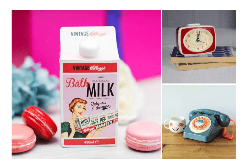 12 CHRISTMAS GIFT IDEAS FOR YOUR RETRO FRIENDS
