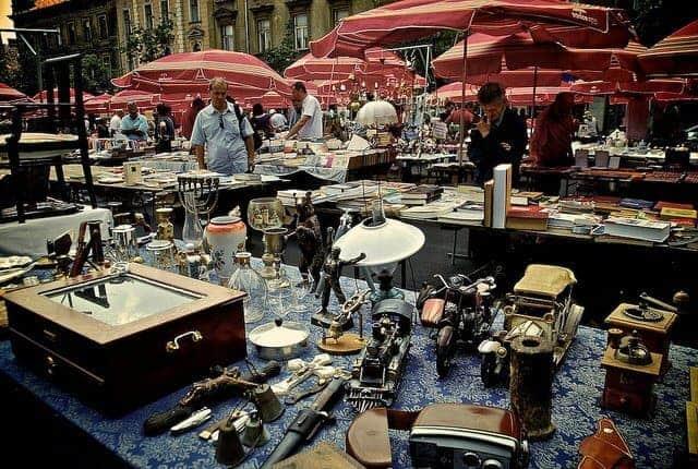 Kathy Kao Britanski trg Flea Market