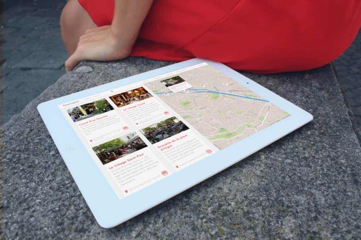 Fleamapket tablet stonewall paris