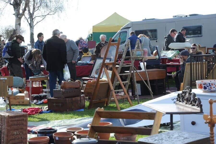 Peterborough Festival of Antiques market