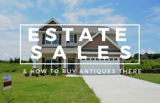 tips for estate sales