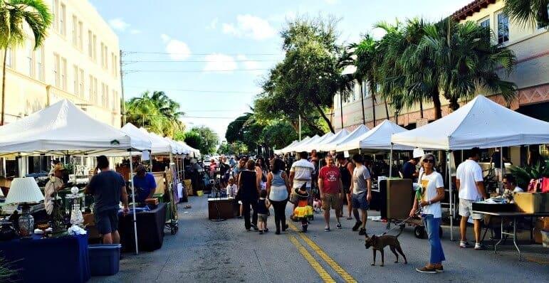 Lincoln Road Antique Market, Miami, FL