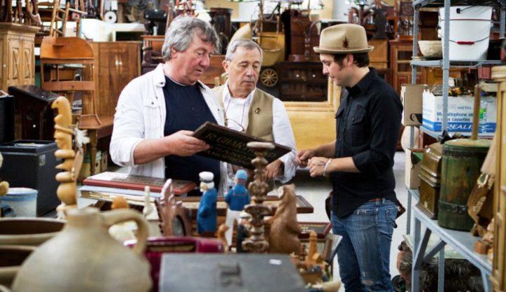 Encans Gélineau Fils Inc. antiques quebec copyright tvpassport.com