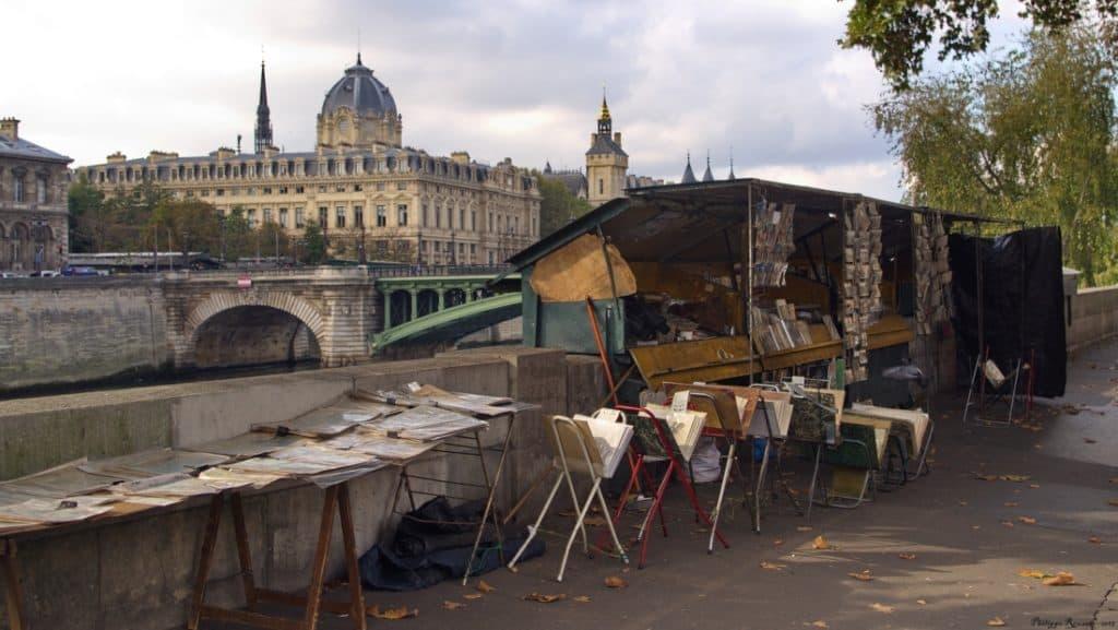 Bouquiniste Paris copyright Philippe Rouzet via Flickr