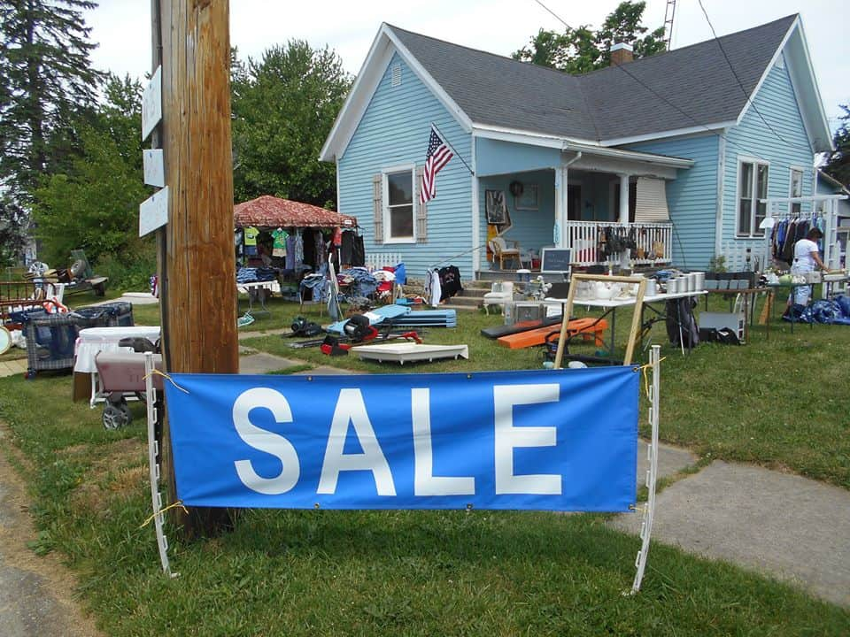 Historic National Road Yard Sale © Indiana Economic Digest