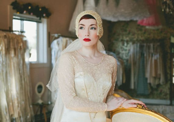 Vintage Wedding Accessories And Dresses © Etsy