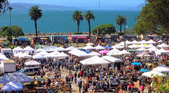 Plan Flea Market Trips By Season © Treasure Island Flea