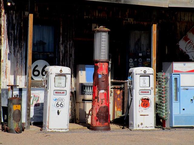 Vintage Gas Pumps © Classic Film