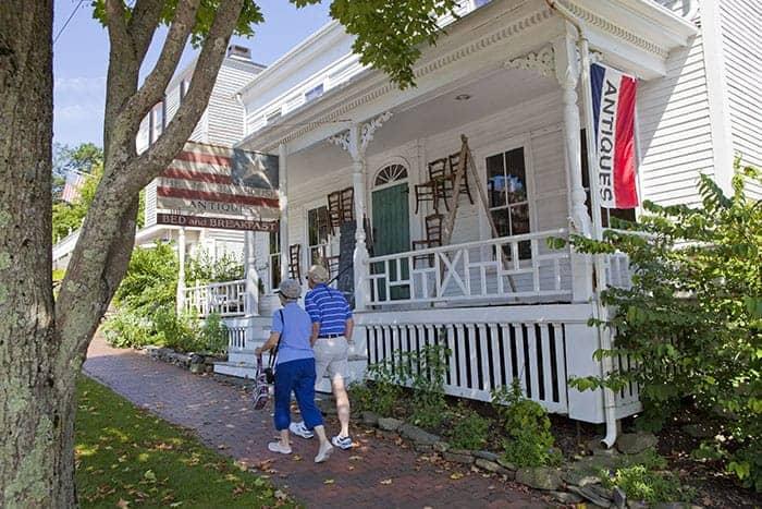 Wiscasset Antiques copyright Norm Eggert Antique Shop Wiscasset Maine