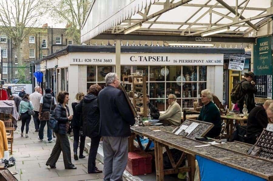 Camden Passage A Best Weekly Flea Market In Europe