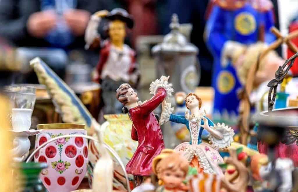 Flohmarkt am Naschmarkt © Sabine Trucksäß