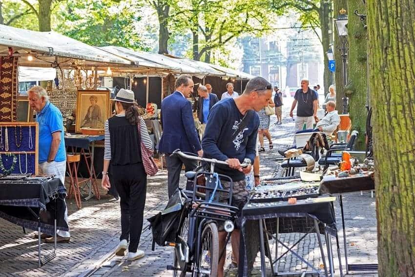Haagse Antiek en Boeken Markt © vvv.nl