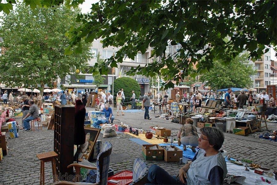 Tongeren Flea Market Belgium
