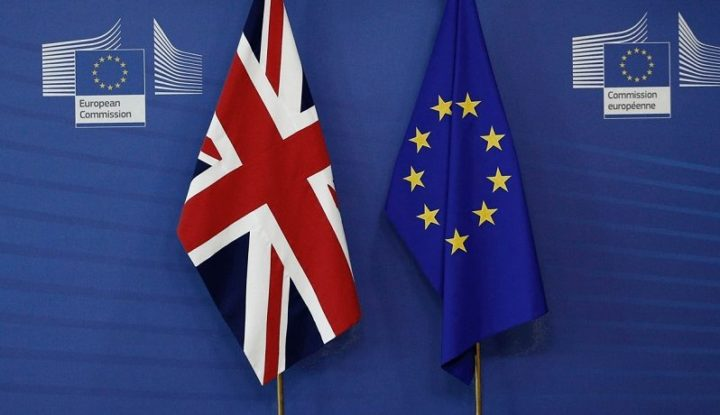 UK and European Flag